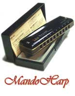 MandoHarp - Seydel Harmonicas - 10319 Blues Session Steel 9 Harmonica Set